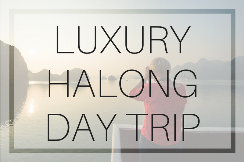 Luxury Halong Bay Day Trip for Under $100