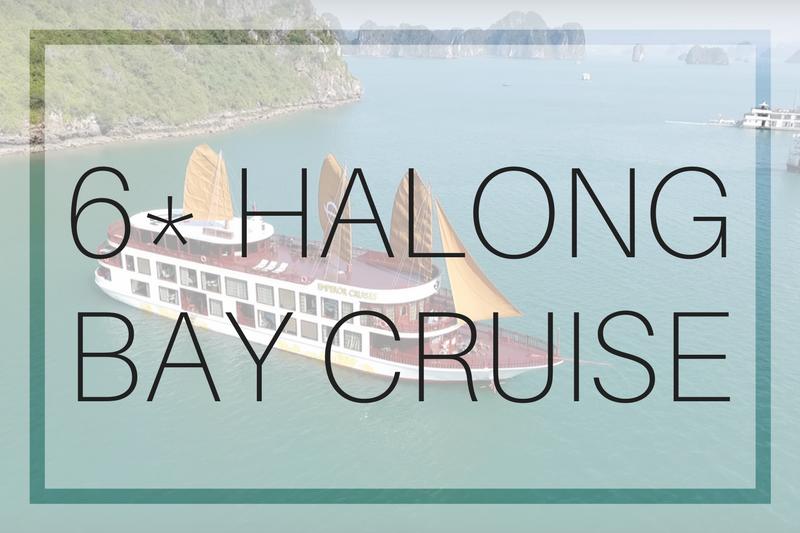 6 Star Halong Bay Cruise with Emperor Cruises